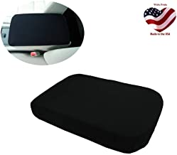 Car Console Covers Plus Made in USA fits Nissan Frontier 2015-2019 Neoprene Center Armrest Cover for Center Console Lid Black
