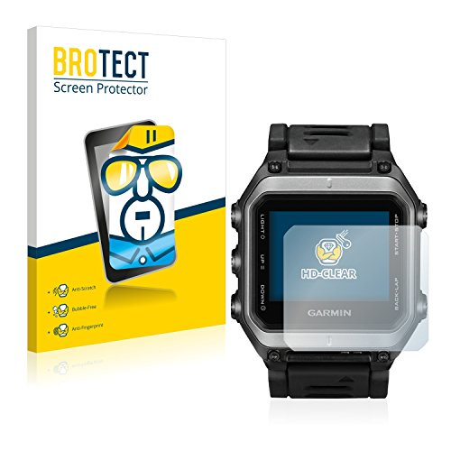 BROTECT Protector Pantalla Compatible con Garmin epix Protector Transparente (2 Unidades) Anti-Huellas