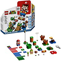 LEGO Super Mario Adventures with Mario Starter Course 71360 Building Kit, Interactive Set Featuring Mario, Bowser Jr....