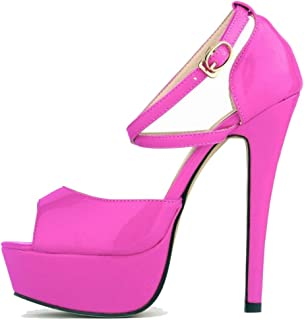Melady Women Fashion Sandals Stiletto High Heels