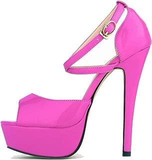 Melady Women Fashion Sandals Stiletto High Heels