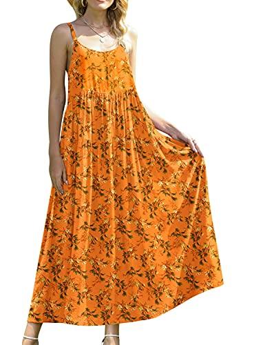 Cotton Floral Print Boho Maxi Dresses