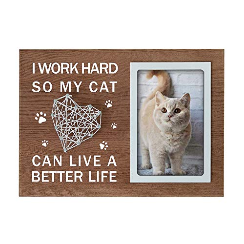 Cat Dad Picture Frame