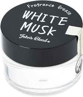 John's Blend(ジョンズブレンド) スタイリング剤 フレグランスグリース ウェット OA-JON-39-1 ホワイトムスク 60グラム (x 1)