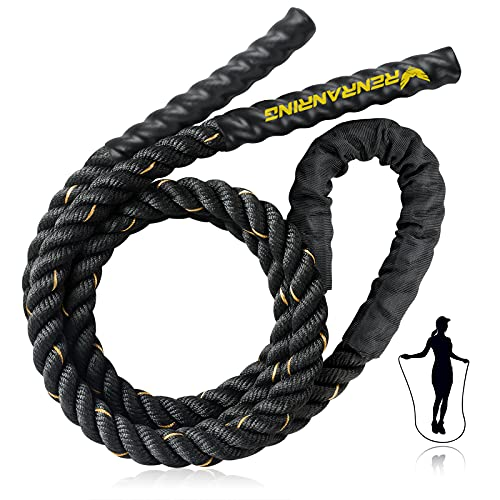 Battle Ropes for Exercises - 30ft Workout Rope