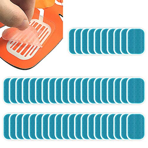 PAMASE 50Pcs/80Pcs Abs Stimulator Training Replacement Gel Sheet Pads for Abdominal Muscle Trainer, Accessory for Ab Workout Toning Belt