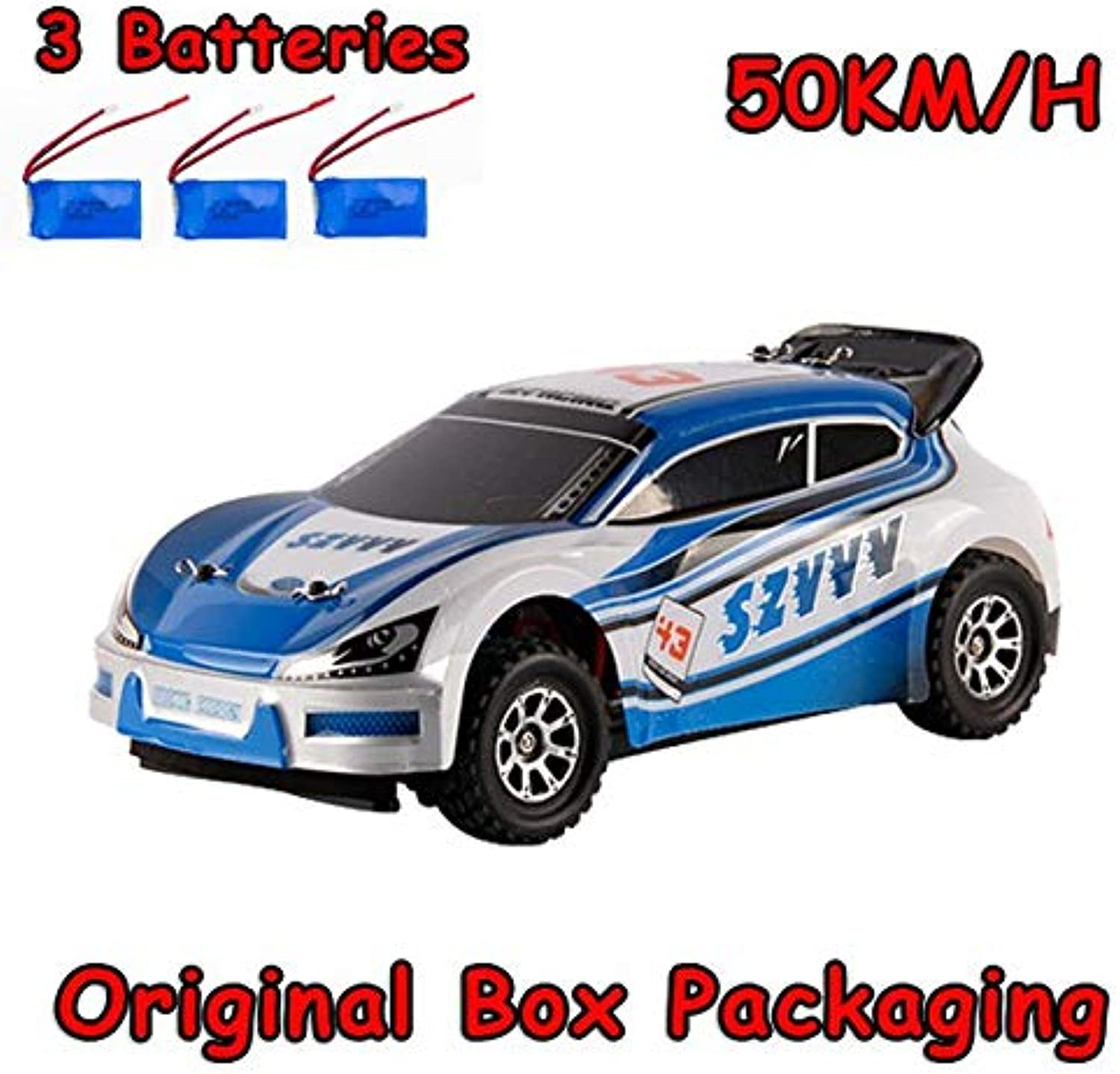 Generic WLtoys A949 Racing RC Car RTR 4WD 2.4GHz Toys Remote Control Car 1 18 High Speed 50km h Electronic Car A949 50KM H 3battery175
