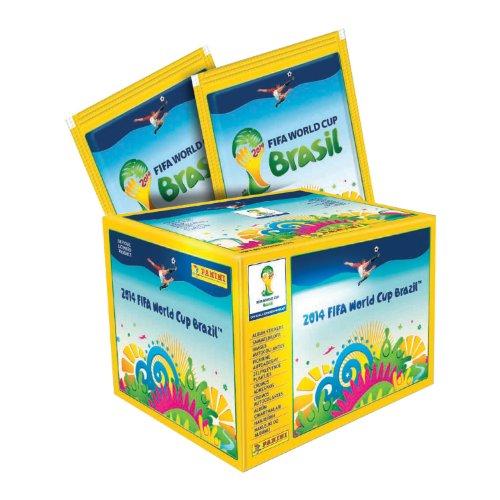 Coupe du Monde de la FIFA 2014 Panini officiel Brésil (Brasil) Autocollant Packs (10 x Sticker Pack)