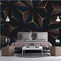 3D壁紙ポスターゴールデンラインカスタム大規模な壁紙の壁紙3Dテレビの背景リビングルームの写真の壁紙3Dルームの壁紙-200X140cm