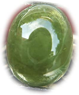 Lovemom 5.94ct Natural Cabochon Green Sapphire Madagascar #R