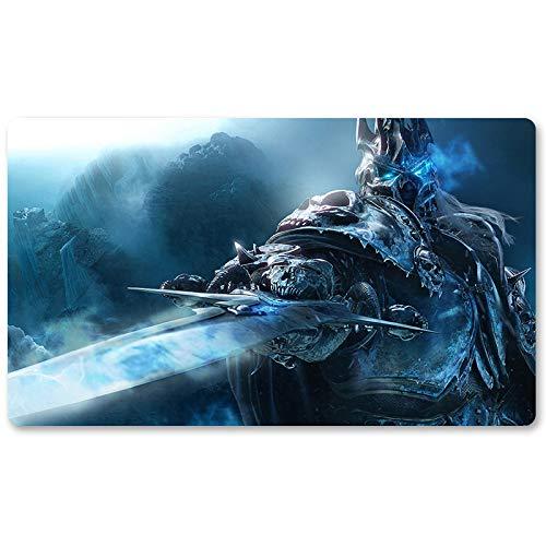 Warcraft1 – Juego de mesa de Warcraft tapete de mesa Wow juegos teclado Pad Tamaño 60 x 35 cm World of Warcraft Mousepad para Yugioh Pokemon MTG o TCG