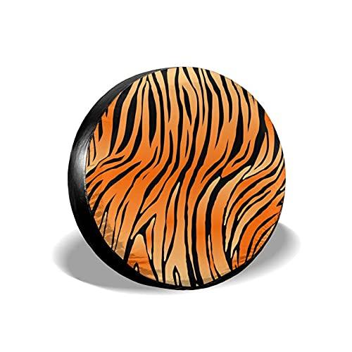 Leopardo Tropical Jaguar Piel de Animal Salvaje Poliéster Potable Rueda de Repuesto Cubierta de llanta Cubiertas de Rueda Ajuste Universal