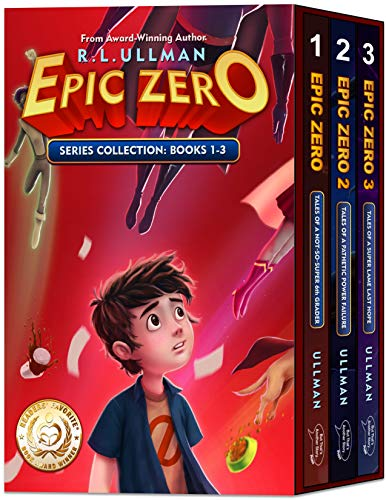 Epic Zero: Tales of a Not-So-Super 6th Grader Books 1-3 (Epic Zero Collection Book 1)