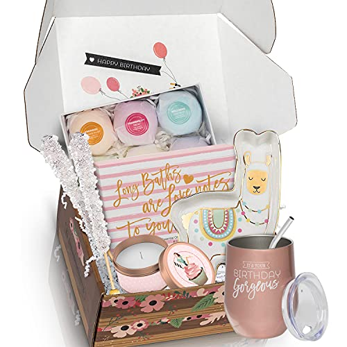 Unique Birthday Box for Women - Spoil Her With An Exquisite Birthday Basket for Women Which Will...