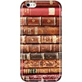 VIVIBIN iPhone 6 Case,iPhone 6s Case,Cute Books Design for Women Girls Clear Bumper Soft Silicone Rubber Matte TPU Best Protective Cover Slim Fit Phone Case for iPhone 6/iPhone 6s