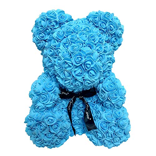 Rose Bear Teddy Forever Artificial Flowers