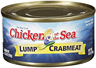 Chicken of the Sea Lump Crab 6oz Can (Pack of 6)