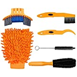 Urisgo - Limpiador de cadena de bicicleta - Kit de 6 herramientas para...
