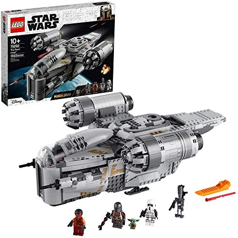 LEGO Star Wars The Mandalorian The Razor Crest 75292 Exclusive Building Kit New 2020 1 023 Pieces product image