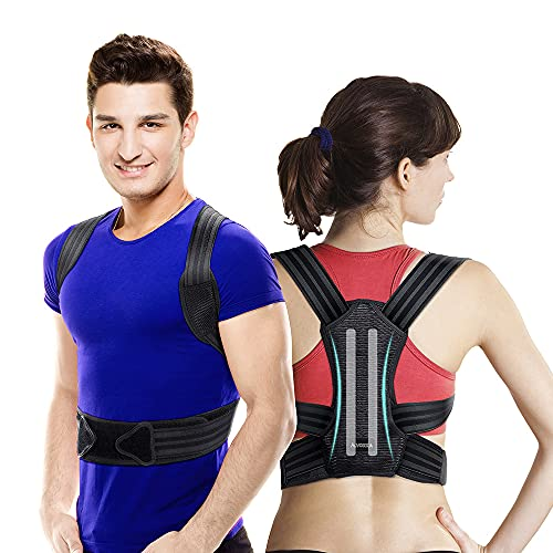 VOKKA Posture Corrector for Men and Women, Spine and Back Support,...