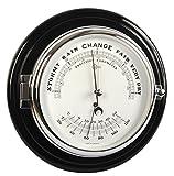 Barigo Captain Barometer/Thermometer Chrom -