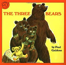 Cover of The Three Bears by Paul Galdone