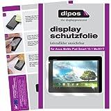dipos I 2x Schutzfolie klar kompatibel mit Asus MeMO Pad Smart 10.1 ME301T Folie Bildschirmschutzfolie