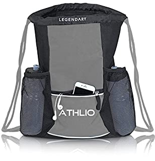 Athlio Legendary Drawstring Gym Bag