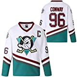 MOLPE 96 White Ice Hockey Jersey (White-96, L)