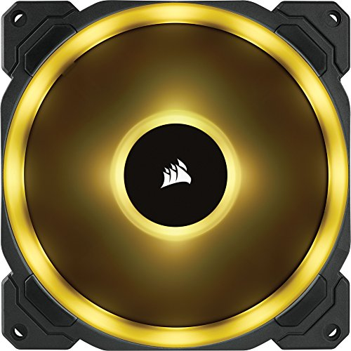 Corsair LL Series LL140 RGB 140mm Dual Light Loop RGB LED PWM Fan 2 Fan Pack with Lighting Node Pro