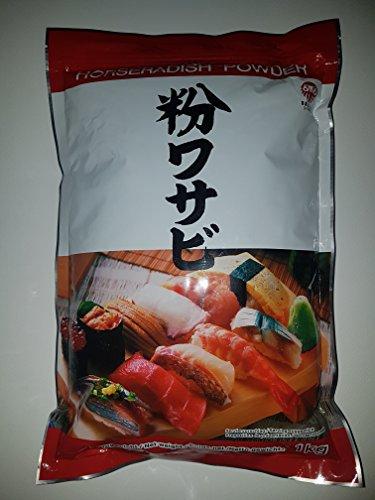 Wasabi Pulver 1 KG Wasabipulver für Sushi
