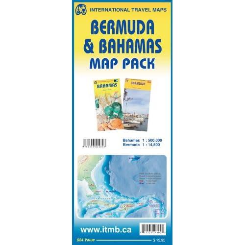Bermuda & Bahamas Map Pack: ITMB Publishing Ltd., Lan Joyce ... on