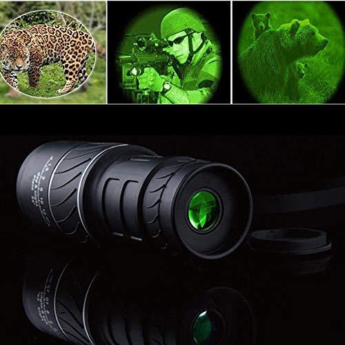 F-JX Day & Night Vision HD 40X60 Ottico monoculare di Caccia d'escursione di Campeggio telescopio Visore Notturno