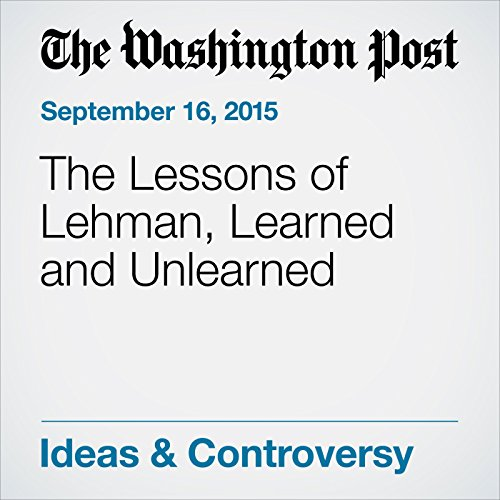 The Lessons of Lehman, Learned and Unlearned audiobook cover art