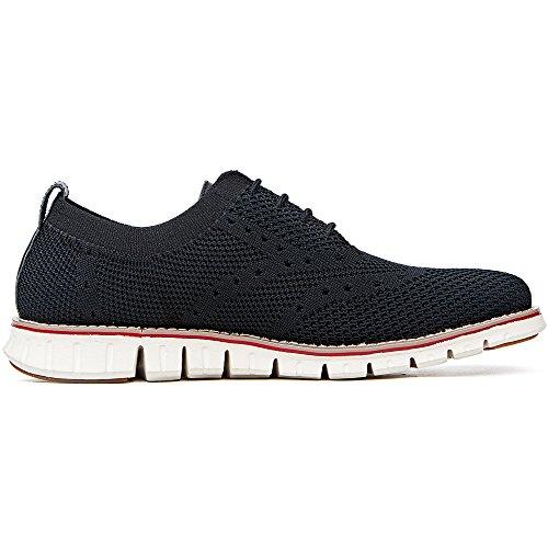 LAOKS Men's Mesh Sneakers Wingtip