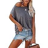 Moda para Mujer Casual Simple Color SóLido Camiseta Sin Tirantes Top Mujer