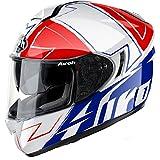 Airoh - casco moto airoh st 701 spark red gloss st7sk55 - cas10d - l