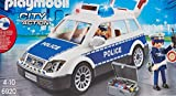 PLAYMOBIL- City Action Playset, Coche de Policía con Luces y Sonido, Multicolor (6920)