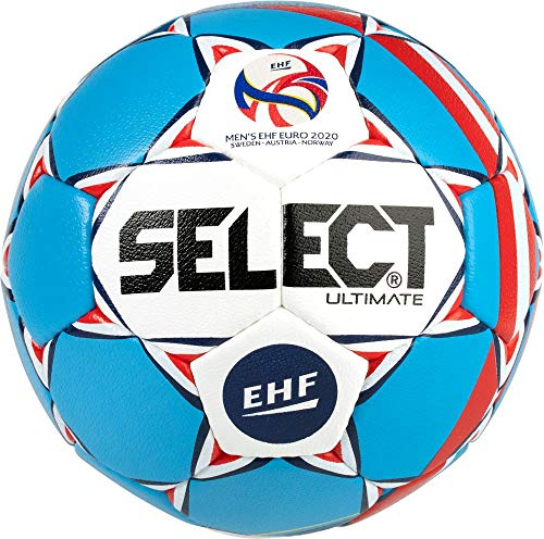 Select Ultimate Ball Unisex, Uni, Blau/Weiß, Senior(3)