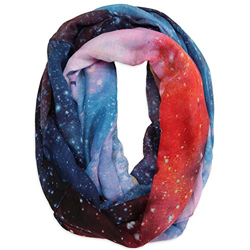 Galaxy Print Fashion Infinity Scarf Hawaii