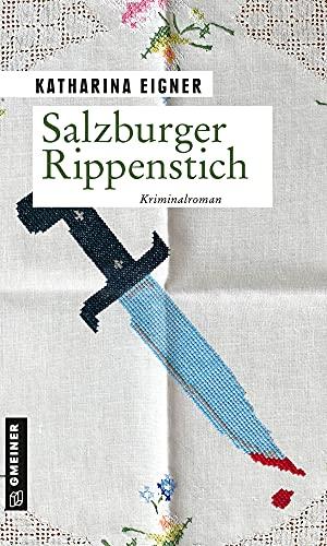 Buchseite und Rezensionen zu 'Salzburger Rippenstich' von Katharina Eigner