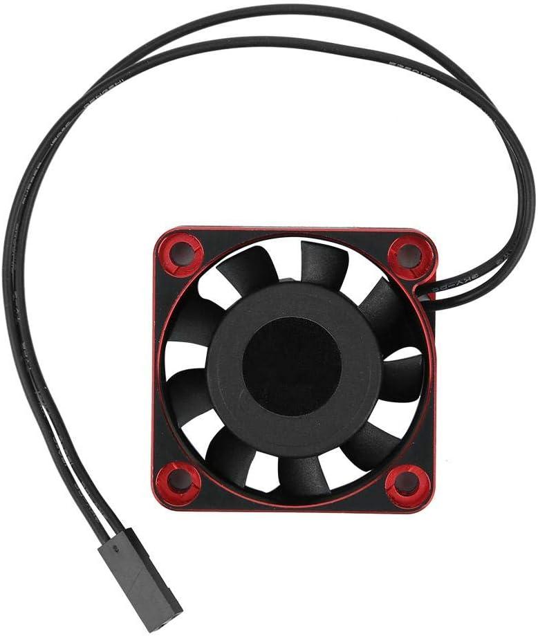 VGEBY RC Ventilateur de Refroidissement 40 x 40 x 10 mm Aluminium et Plastique 16000 TR//Min T/él/écommande Ventilateur de Refroidissement RC Mise /à Niveau Pi/èces Accessoires