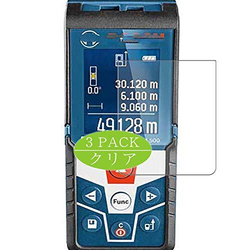 VacFun - 3 pellicole proteggi schermo HD trasparenti, compatibili con Bosch GLM 500 GLM500, pellicola proteggi schermo senza bolle (non in vetro temperato)