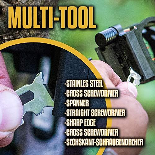 Survival Paracord Bracelet Emergency Tactical Survival Gear Kit