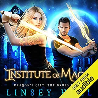 Institute of Magic audiobook cover art