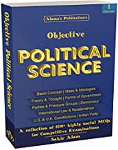 Objective Political Science for State PSC, UGC NET/ SET & other Competitive Examinations (6600+ MCQs)(english)