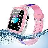 Jslai Kids Smartwatch para Niños, LBS Tracker Reloj Inteligente...