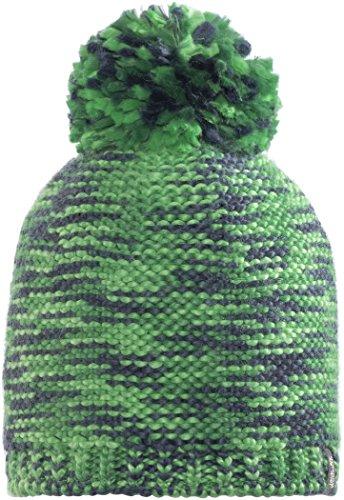 Jack Wolfskin Kaleidoscope Knit Cap Kids Chapeau Mixte Enfant, Evergreen, S