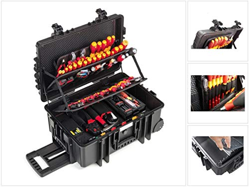Wiha Electrician Competence XXL II mit speedE® - 80 Jahre Wiha Jubiläumsedition - 122-teiliges Elektriker-Set (9300704J)
