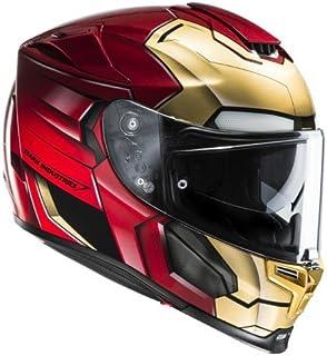 Amazonfr Casque Moto Iron Man